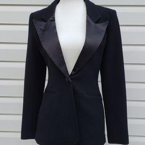Smythe Holt Renfrew 175th Anniversary Tuxedo Blazer Wool Size 6
